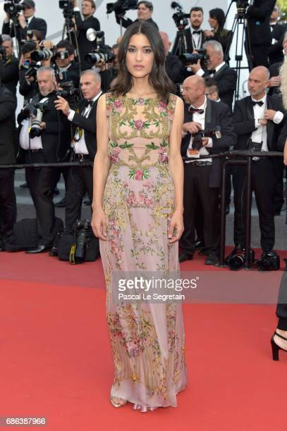 Actress Julia Jones attends the 'The Meyerowitz Stories' screening during the 70th annual Cannes Film Festival at Palais des Festivals on May 21 2017...