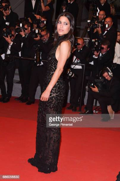 Actress Julia Jones attends the 'The Square' screening during the 70th annual Cannes Film Festival at Palais des Festivals on May 20 2017 in Cannes...