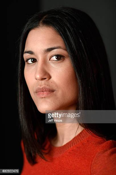Actress Julia Jones from the film 'Wind River' poses for a portrait in the WireImage Portrait Studio presented by DIRECTV during the 2017 Sundance...