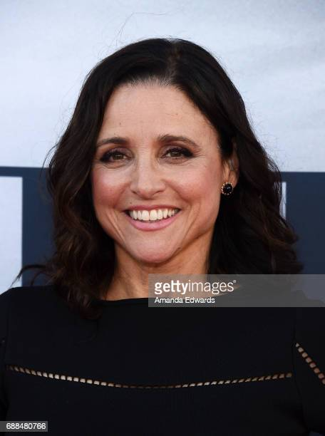 Actress Julia LouisDreyfus arrives at HBO's 'Veep' FYC Event at the Saban Media Center on May 25 2017 in North Hollywood California