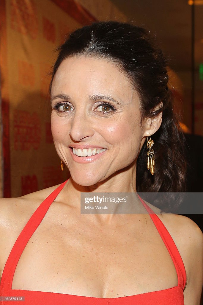 Actress Julia LouisDreyfus attends HBO's Post 2014 Golden Globe Awards Party held at Circa 55 Restaurant on January 12 2014 in Los Angeles California