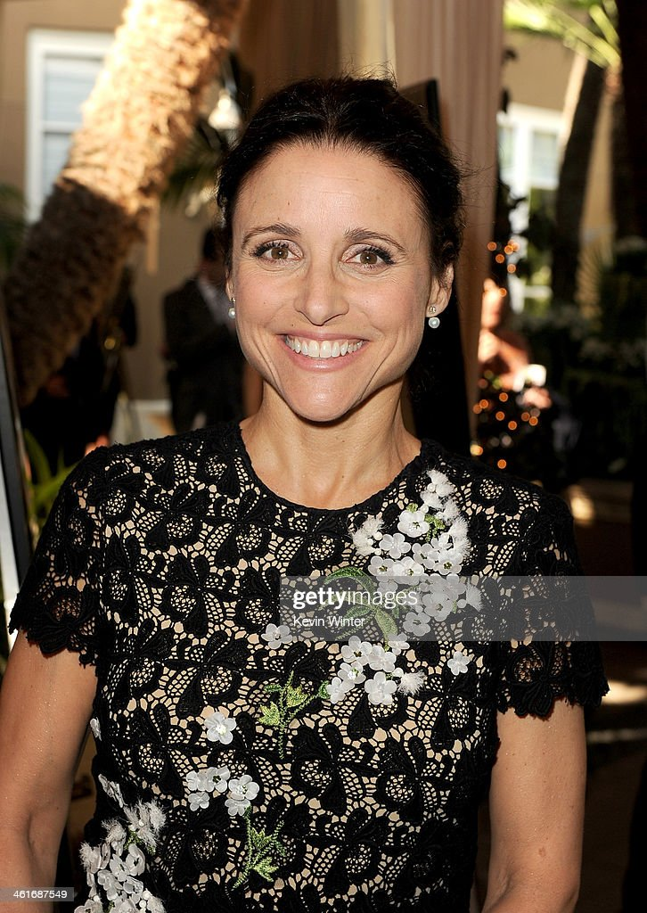 Actress Julia Louis-Dreyfus attends the 14th annual AFI Awards Luncheon at the Four Seasons Hotel Beverly Hills on January 10, 2014 in Beverly Hills, California.