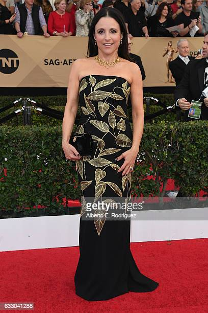 Actress Julia LouisDreyfus attends the 23rd Annual Screen Actors Guild Awards at The Shrine Expo Hall on January 29 2017 in Los Angeles California
