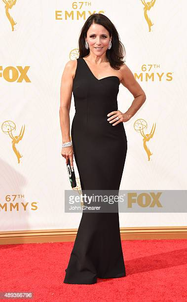 Actress Julia LouisDreyfus attends the 67th Annual Primetime Emmy Awards at Microsoft Theater on September 20 2015 in Los Angeles California