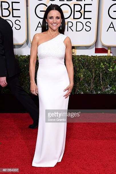 Actress Julia LouisDreyfus attends the 72nd Annual Golden Globe Awards at The Beverly Hilton Hotel on January 11 2015 in Beverly Hills California