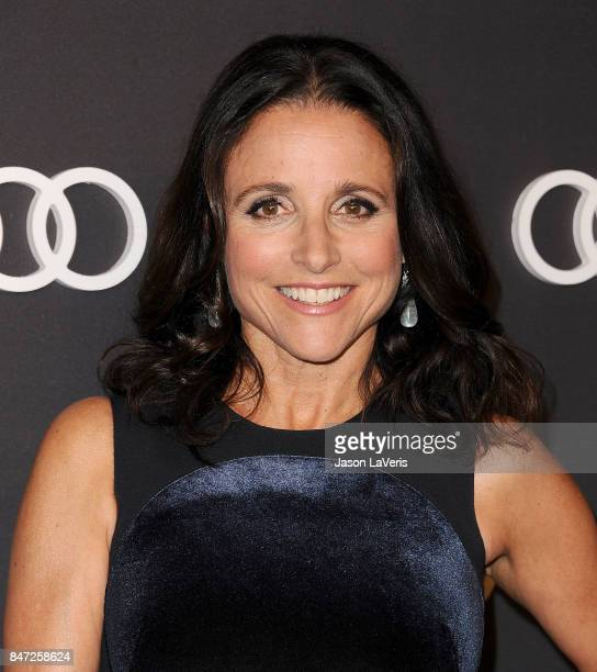Actress Julia LouisDreyfus attends the Audi celebration for the 69th Emmys at The Highlight Room at the Dream Hollywood on September 14 2017 in...