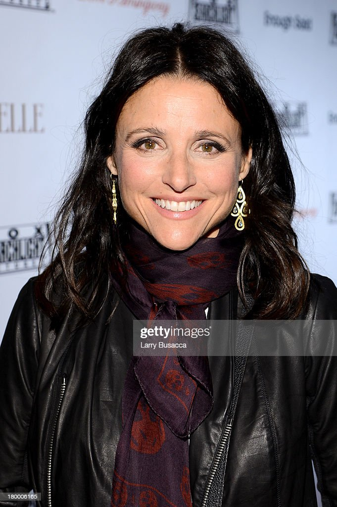 Actress <a gi-track='captionPersonalityLinkClicked' href=/galleries/search?phrase=Julia+Louis-Dreyfus&family=editorial&specificpeople=208965 ng-click='$event.stopPropagation()'>Julia Louis-Dreyfus</a> attends the Fox Searchlight TIFF Party during the 2013 Toronto International Film Festival at Spice Route on September 7, 2013 in Toronto, Canada.