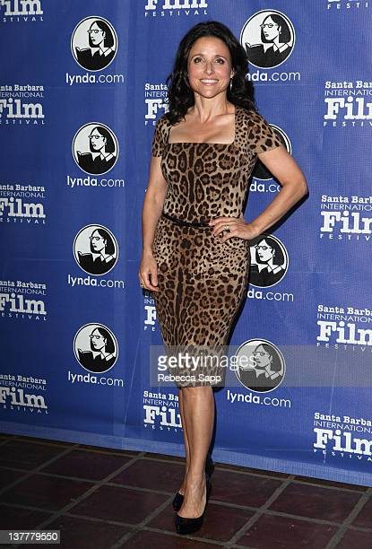 Actress Julia LouisDreyfus attends the Opening Night Film and Gala of the 2012 Santa Barbara International Film Festival with the World Premiere of...