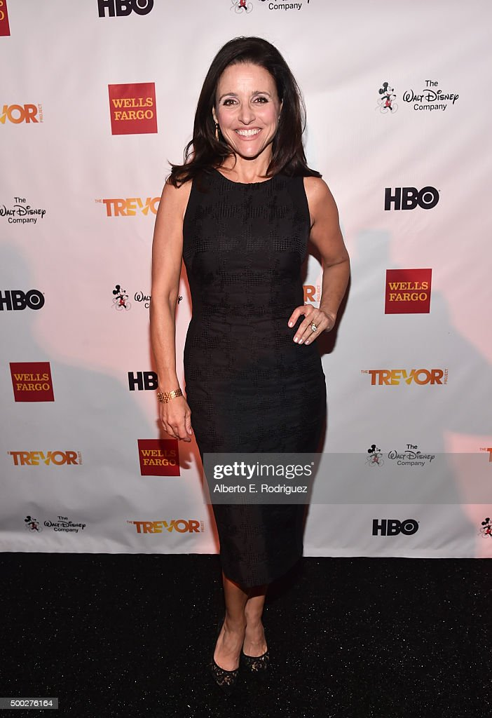 Actress Julia Louis-Dreyfus attends TrevorLIVE LA 2015 at Hollywood Palladium on December 6, 2015 in Los Angeles, California.
