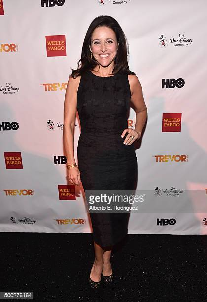 Actress Julia LouisDreyfus attends TrevorLIVE LA 2015 at Hollywood Palladium on December 6 2015 in Los Angeles California