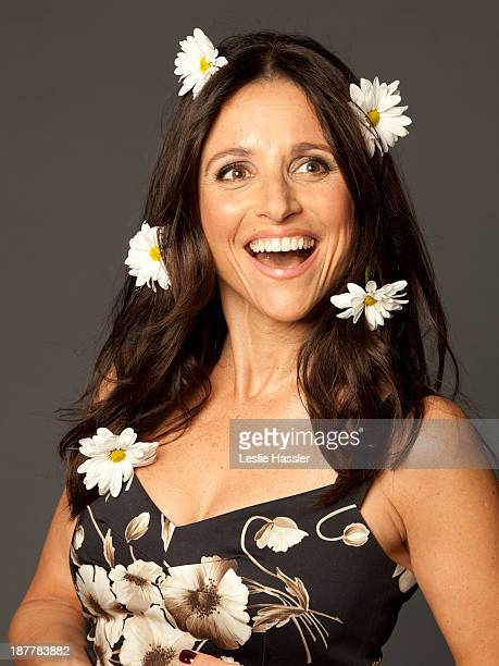 Actress Julia LouisDreyfus is photographed for Self Assignment on April 20 2012 in New York City