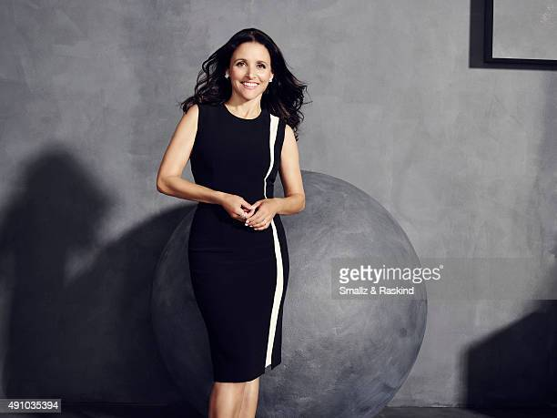 Actress Julia LouisDreyfus is photographed for The Hollywood Reporter on May 31 2015 in Los Angeles California