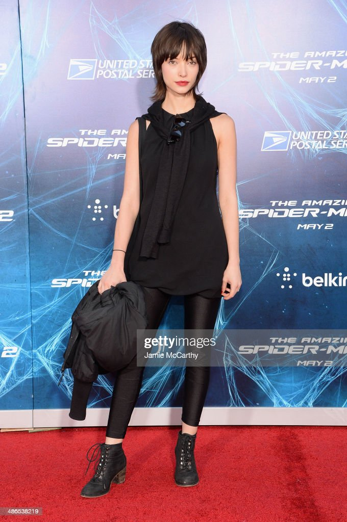 Actress Julia Morrison attends 'The Amazing Spider-Man 2' premiere at the Ziegfeld Theater on April 24, 2014 in New York City.