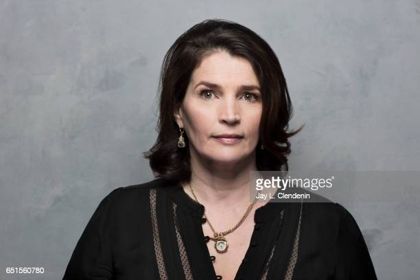 Actress Julia Ordmond from the film Rememory is photographed at the 2017 Sundance Film Festival for Los Angeles Times on January 23 2017 in Park City...