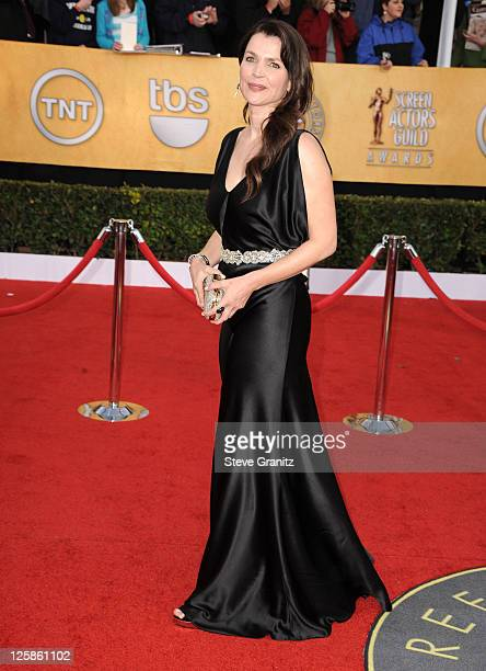 Actress Julia Ormond arrives at the 17th Annual Screen Actors Guild Awards held at The Shrine Auditorium on January 30 2011 in Los Angeles California