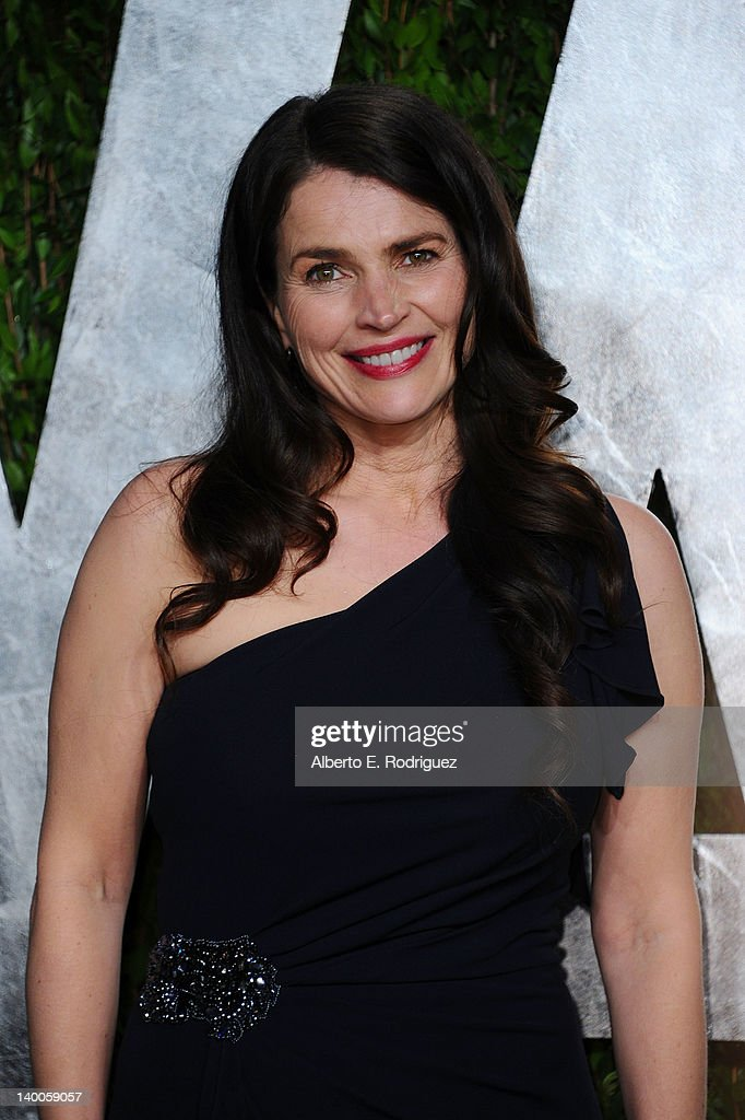 Actress Julia Ormond arrives at the 2012 Vanity Fair Oscar Party hosted by Graydon Carter at Sunset Tower on February 26, 2012 in West Hollywood, California.