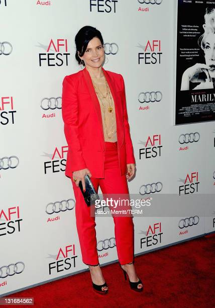 Actress Julia Ormond arrives at the 'My Week With Marilyn' special screening during AFI FEST 2011 presented by Audi at Grauman's Chinese Theatre on...