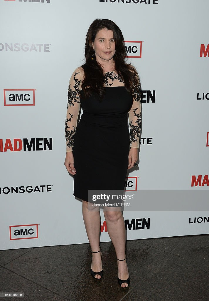 Actress Julia Ormond arrives at the Premiere of AMC's 'Mad Men' Season 6 at DGA Theater on March 20, 2013 in Los Angeles, California.