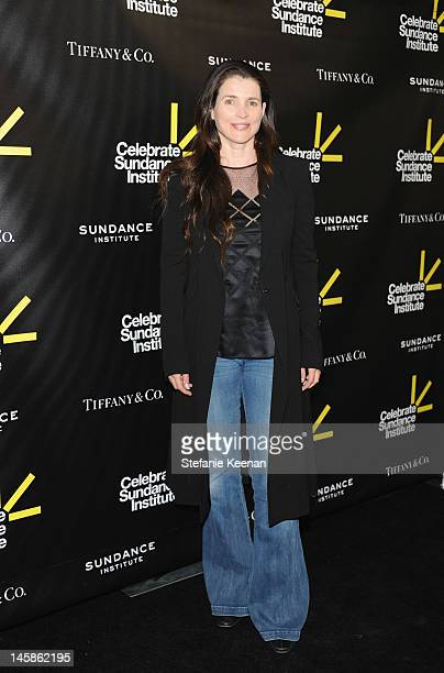 Actress Julia Ormond arrives at the Sundance Institute Benefit presented by Tiffany Co in Los Angeles held at Soho House on June 6 2012 in West...