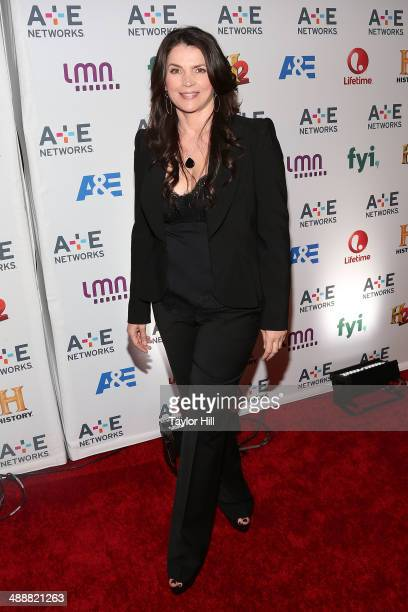 Actress Julia Ormond attends the 2014 AE Network Upfronts at Park Avenue Armory on May 8 2014 in New York City