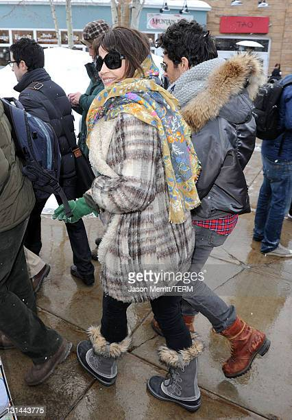 Actress Julia Ormond attends The Samsung Galaxy Tab Lift on January 22 2011 in Park City Utah