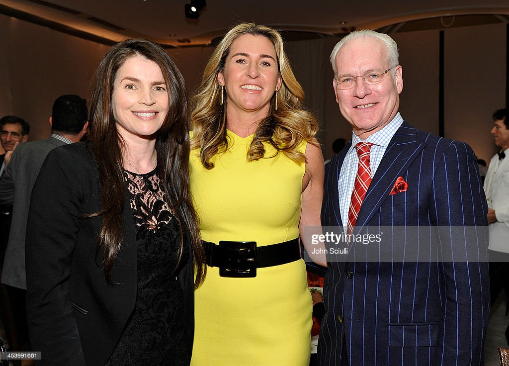 Actress <a gi-track='captionPersonalityLinkClicked' href=/galleries/search?phrase=Julia+Ormond&family=editorial&specificpeople=215234 ng-click='$event.stopPropagation()'>Julia Ormond</a>, honoree Nancy Dubuc and TV personality <a gi-track='captionPersonalityLinkClicked' href=/galleries/search?phrase=Tim+Gunn&family=editorial&specificpeople=696109 ng-click='$event.stopPropagation()'>Tim Gunn</a> attend the March of Dimes Celebration of Babies Luncheon at Beverly Hills Hotel on December 6, 2013 in Beverly Hills, California.