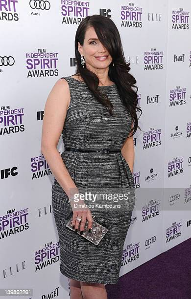 Actress Julia Ormond with Jameson prior to the 2012 Film Independent Spirit Awards at Santa Monica Pier on February 25 2012 in Santa Monica...