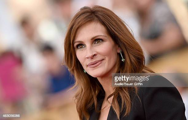 Actress Julia Roberts arrives at the 21st Annual Screen Actors Guild Awards at The Shrine Auditorium on January 25 2015 in Los Angeles California