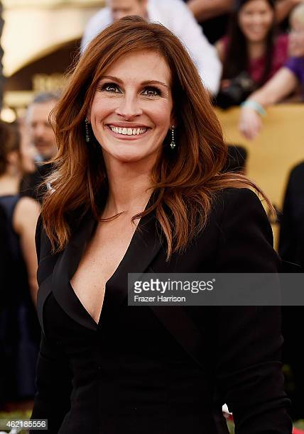 Actress Julia Roberts attends the 21st Annual Screen Actors Guild Awards at The Shrine Auditorium on January 25 2015 in Los Angeles California