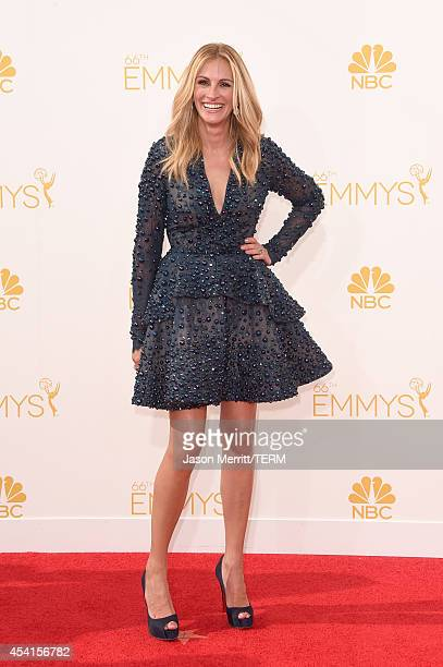 Actress Julia Roberts attends the 66th Annual Primetime Emmy Awards held at Nokia Theatre LA Live on August 25 2014 in Los Angeles California