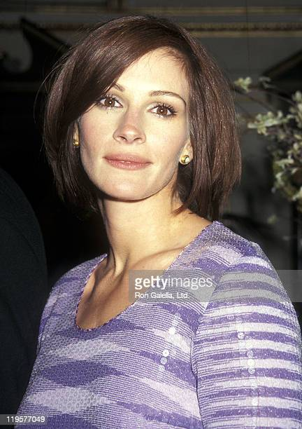 Actress Julia Roberts attends the 'My Best Friend's Wedding' Premiere Party on June 17 1997 at The Plaza Hotel in New York City
