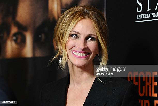 Actress Julia Roberts attends the premiere of 'Secret in Their Eyes' at Hammer Museum on November 11 2015 in Westwood California