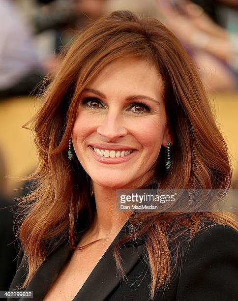 Actress Julia Roberts attends TNT's 21st Annual Screen Actors Guild Awards at The Shrine Auditorium on January 25 2015 in Los Angeles California