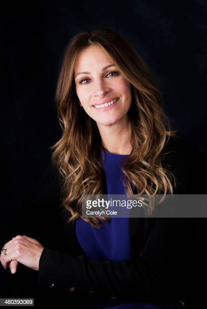 Actress Julia Roberts is photographed for Los Angeles Times on December 26 2013 in Los Angeles California PUBLISHED IMAGE CREDIT MUST BE Carolyn...