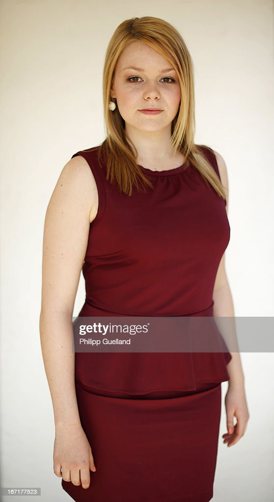 Actress Julia Sontag attends the 18th anniversary celebration of the TV-show 'Verbotene Liebe' on April 22, 2013 in Hamburg, Germany.