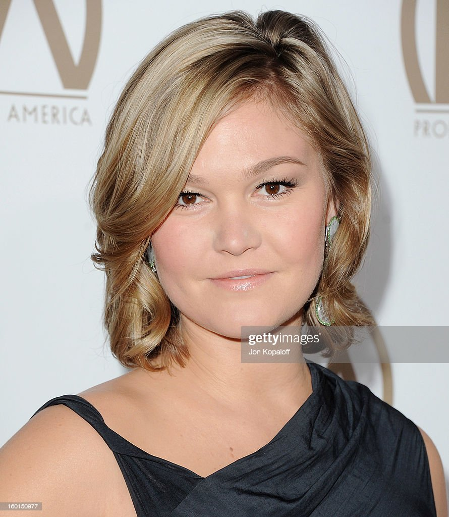 Actress Julia Stiles arrives at the 24th Annual Producers Guild Awards at The Beverly Hilton Hotel on January 26, 2013 in Beverly Hills, California.