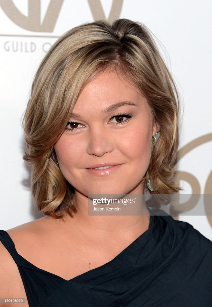Actress Julia Stiles arrives at the 24th Annual Producers Guild Awards held at The Beverly Hilton Hotel on January 26, 2013 in Beverly Hills, California.