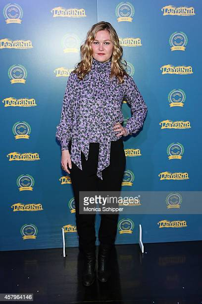 Actress Julia Stiles attends Celebrity Charades 2014 Judgment Day at Capitale on October 27 2014 in New York City
