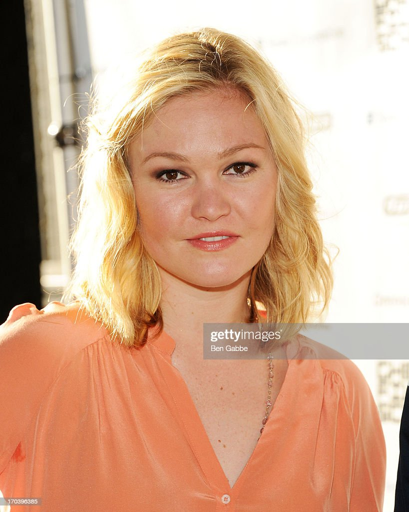 Actress <a gi-track='captionPersonalityLinkClicked' href=/galleries/search?phrase=Julia+Stiles&family=editorial&specificpeople=202217 ng-click='$event.stopPropagation()'>Julia Stiles</a> attends Ghetto Film School 9th Annual Spring Benefit at The Standard Biergarten on June 12, 2013 in New York City.