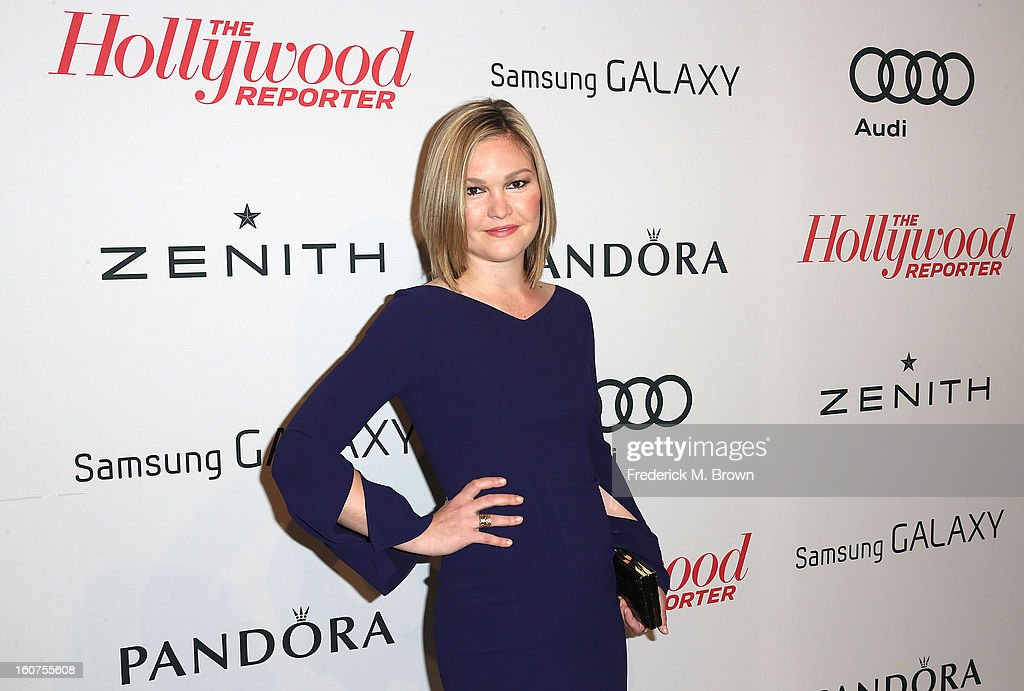Actress Julia Stiles attends The Hollywood Reporter Nominees' Night 2013 Celebrating The 85th Annual Academy Award Nominees at Spago on February 4, 2013 in Beverly Hills, California.