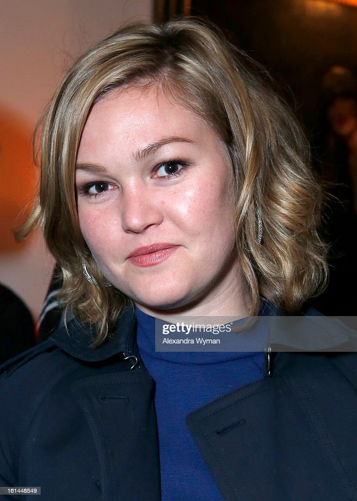 Actress <a gi-track='captionPersonalityLinkClicked' href=/galleries/search?phrase=Julia+Stiles&family=editorial&specificpeople=202217 ng-click='$event.stopPropagation()'>Julia Stiles</a> attends the Warner Music Group 2013 Grammy Celebration Presented By Mini at Chateau Marmont on February 10, 2013 in Los Angeles, California.