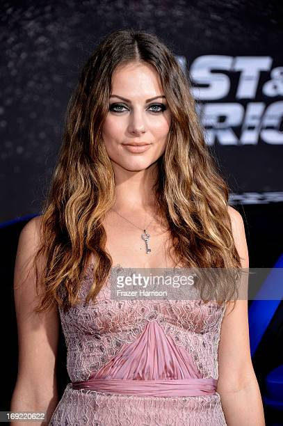 Actress Julia Voth arrives at the Premiere Of Universal Pictures' 'Fast Furious 6' on May 21 2013 in Universal City California