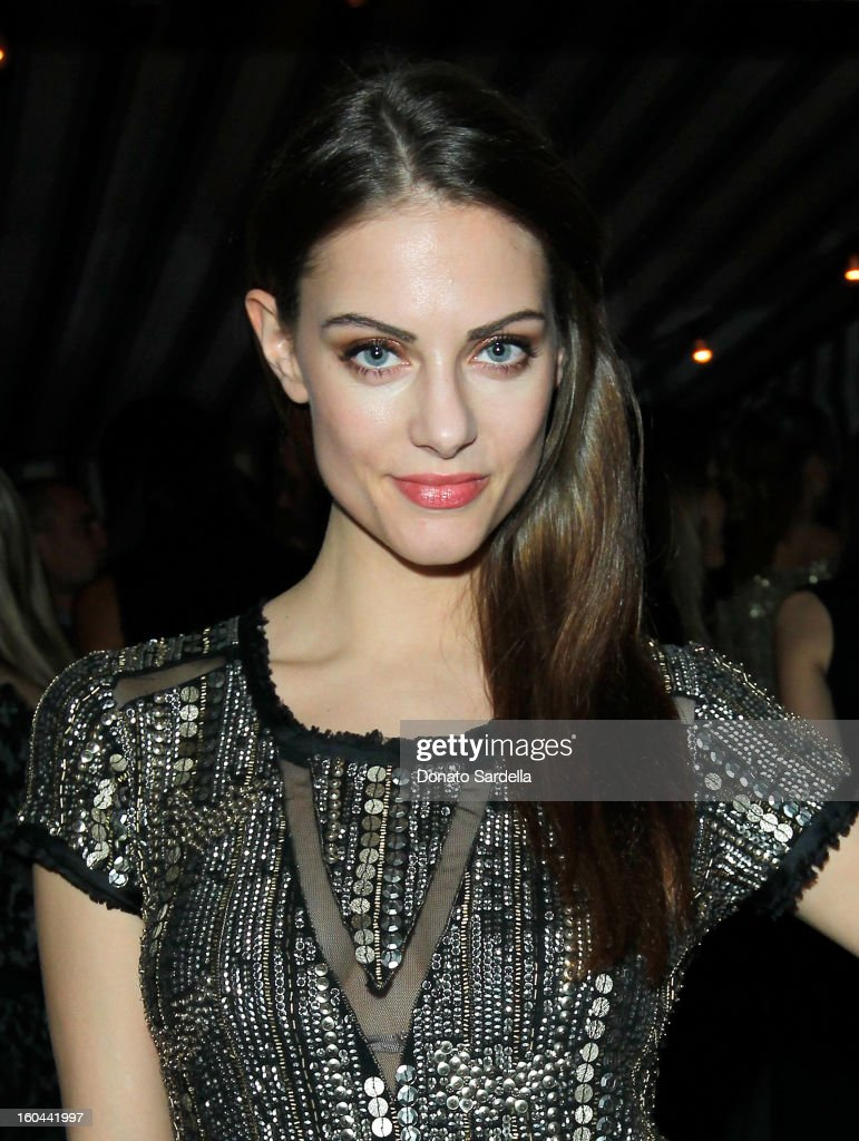 Actress Julia Voth attends Hoorsenbuhs for Forevermark Collection cocktail party at Chateau Marmont on January 30, 2013 in Los Angeles, California.