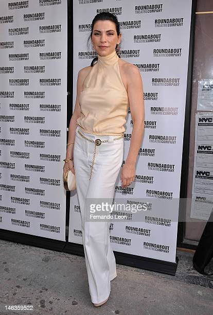Actress Juliana Margulies attends 'Harvey' Broadway Opening Night Performance at Roundabout Theatre Company's Studio 54 on June 14 2012 in New York...