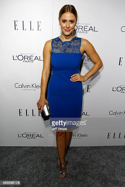 Actress Julianna Guill attends the 22nd Annual ELLE Women in Hollywood Awards presented by Calvin Klein Collection L'Oréal Paris and David Yurman at...