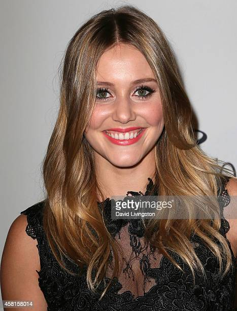 Actress Julianna Guill attends UNICEF's Next Generation's 2nd Annual UNICEF Masquerade Ball at Hollywood Forever Cemetery on October 30 2014 in Los...