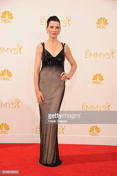 Actress Julianna Marguiles arrives at the 66th Annual Primetime Emmy�� Awards held at the Nokia Theater LA Live