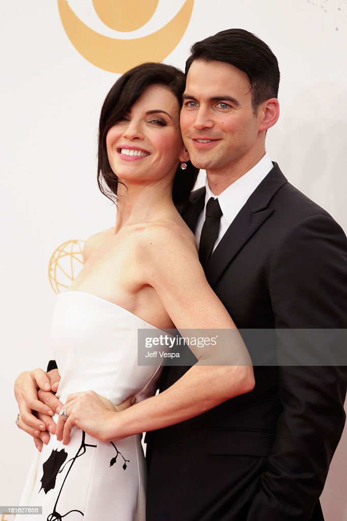 Actress Julianna Margulies and Keith Lieberthal arrive at the 65th Annual Primetime Emmy Awards held at Nokia Theatre LA Live on September 22 2013 in...