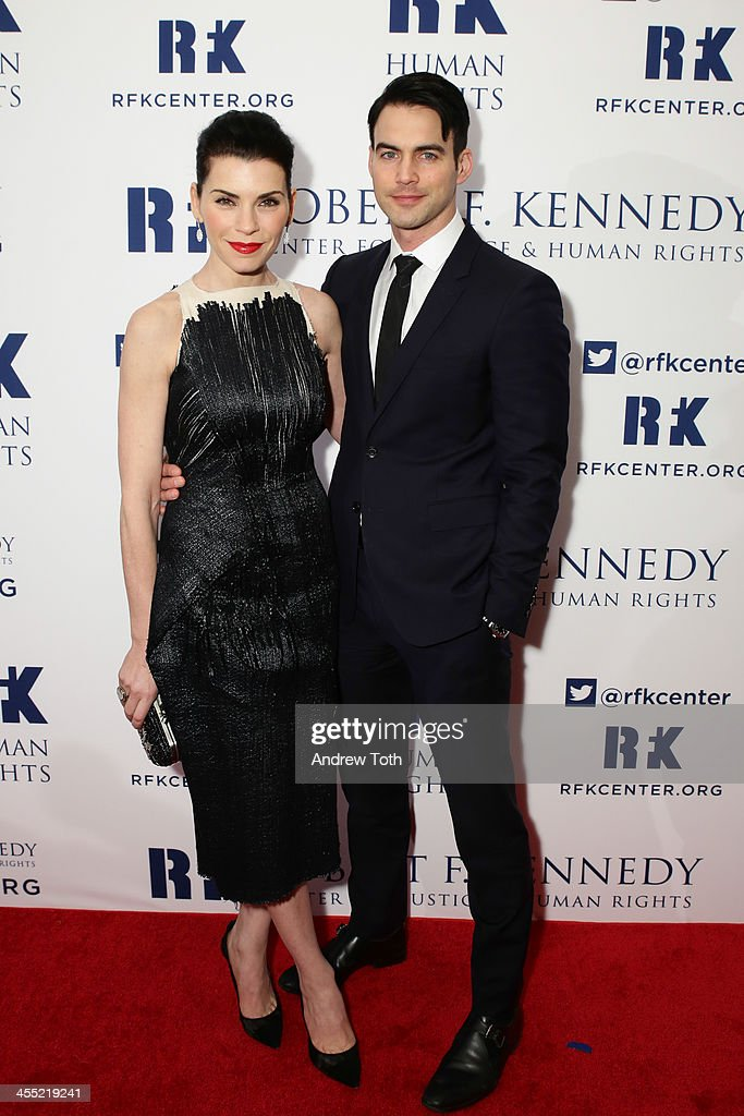 Actress <a gi-track='captionPersonalityLinkClicked' href=/galleries/search?phrase=Julianna+Margulies&family=editorial&specificpeople=208994 ng-click='$event.stopPropagation()'>Julianna Margulies</a> (L) and Keith Lieberthal attend 2013 Ripple of Hope Awards Dinner at New York Hilton on December 11, 2013 in New York City.