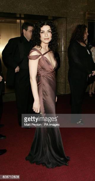 Actress Julianna Margulies arrives at the 2003 Tony Awards at Radio City Music Hall in New York City